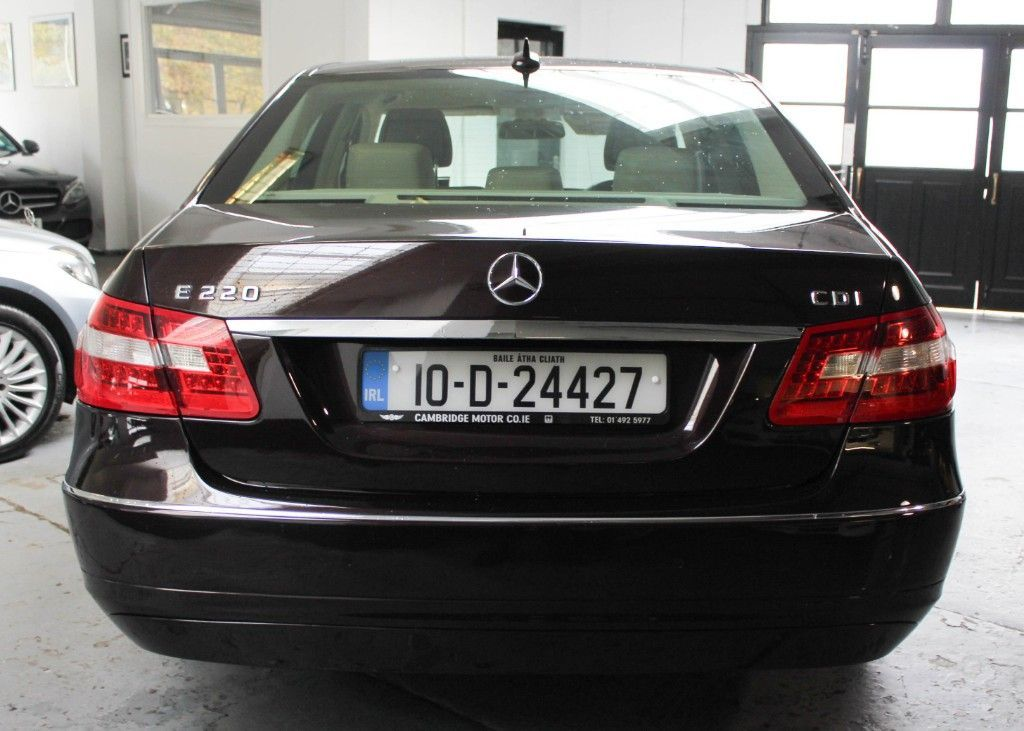 Used Mercedes-Benz E-Class E220 ELEGANCE SANDSTONE LEATHER MANUAL (2010)