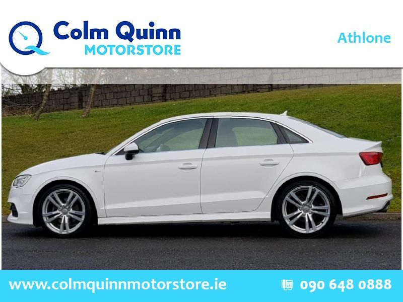Used Audi A3 SALOON 1.6TDI 110 S LINE 4DR (2016 (161))