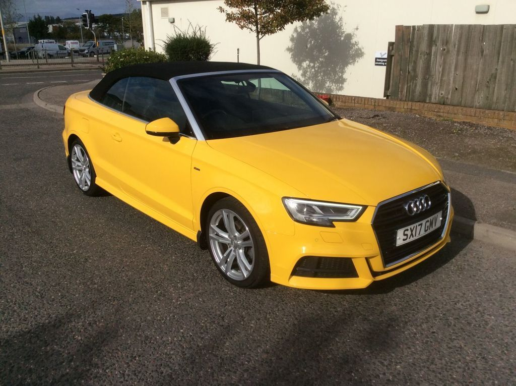 Yellow Audi A3 Cabriolet Used Cars For Sale Autotrader Uk