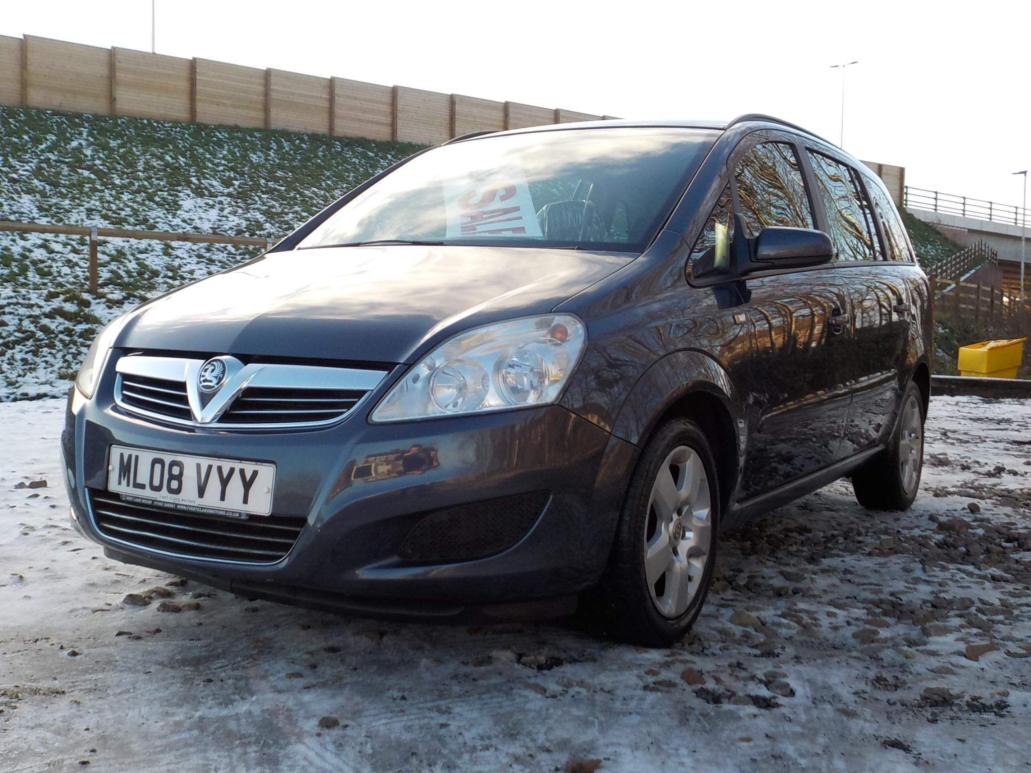 Vauxhall Zafira 1.8 i 16v Exclusiv 5dr