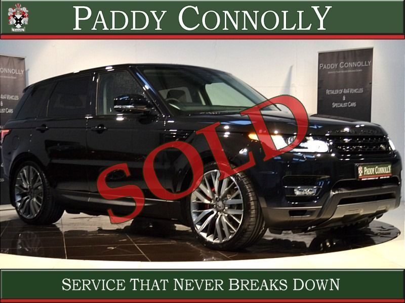 Used Land Rover Range Rover Sport *5 Seat N1 Bus.Class* HSE DYNAMIC (2018 (181))