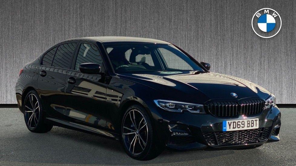 Image 1 - BMW 320d M Sport Saloon (YD69BBT)