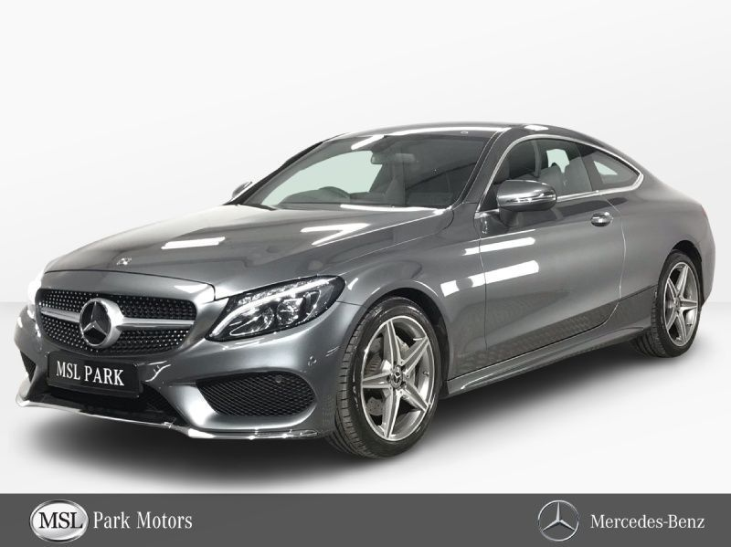 Mercedes-Benz C-Class 220d Coupe AMG Automatic - Dynamic Driving Modes - Multi-Function Steering Wheel - Cruise Control - Heated Seats - Full Leather