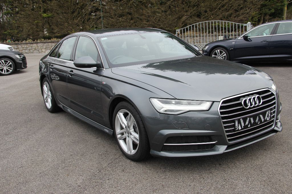 Audi A6 S LINE 190 BHP * LOW KMS * S TRONIC * DAYTONA PEARL * FULLY COMPREHENSIVE WARRANTY + FINANCE AVAILABLE