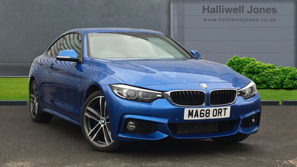 Image 1 - BMW 420d xDrive M Sport Coupe (MA68ORT)