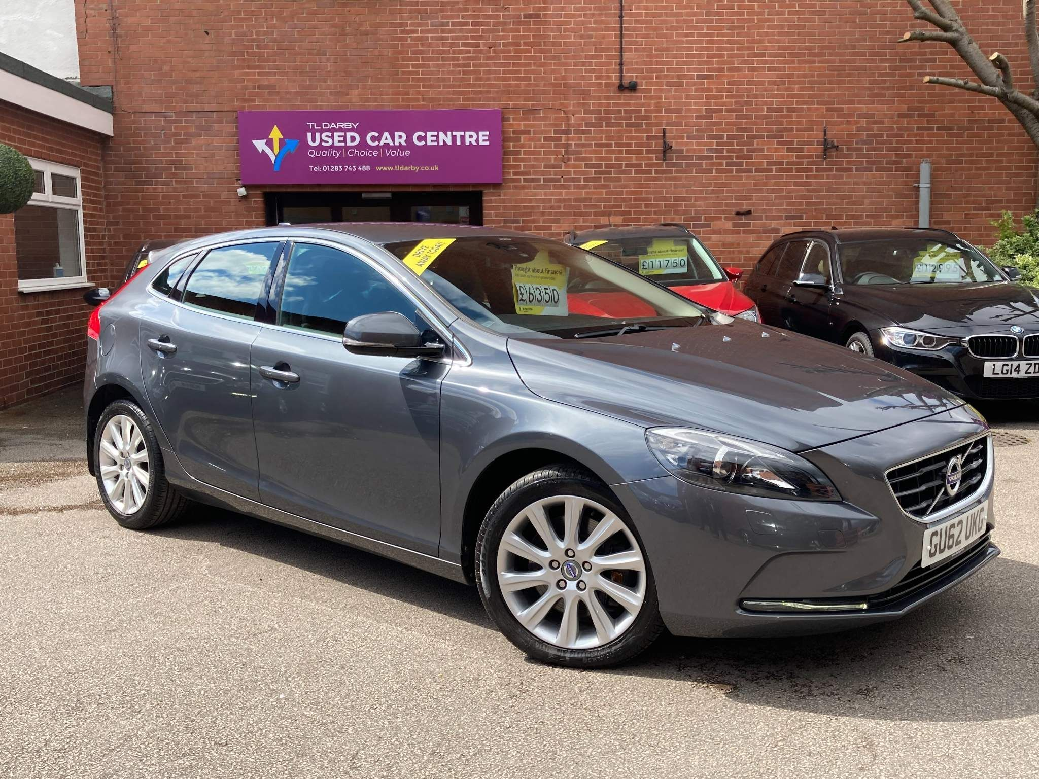 Volvo V40 2.0 D3 SE Lux Geartronic 5dr