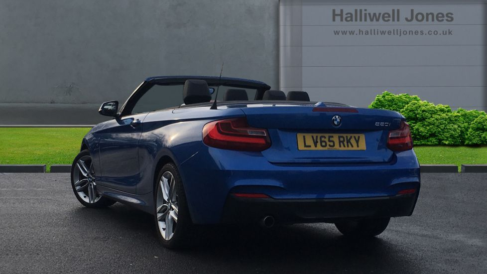Image 2 - BMW 220i M Sport Convertible (LV65RKY)