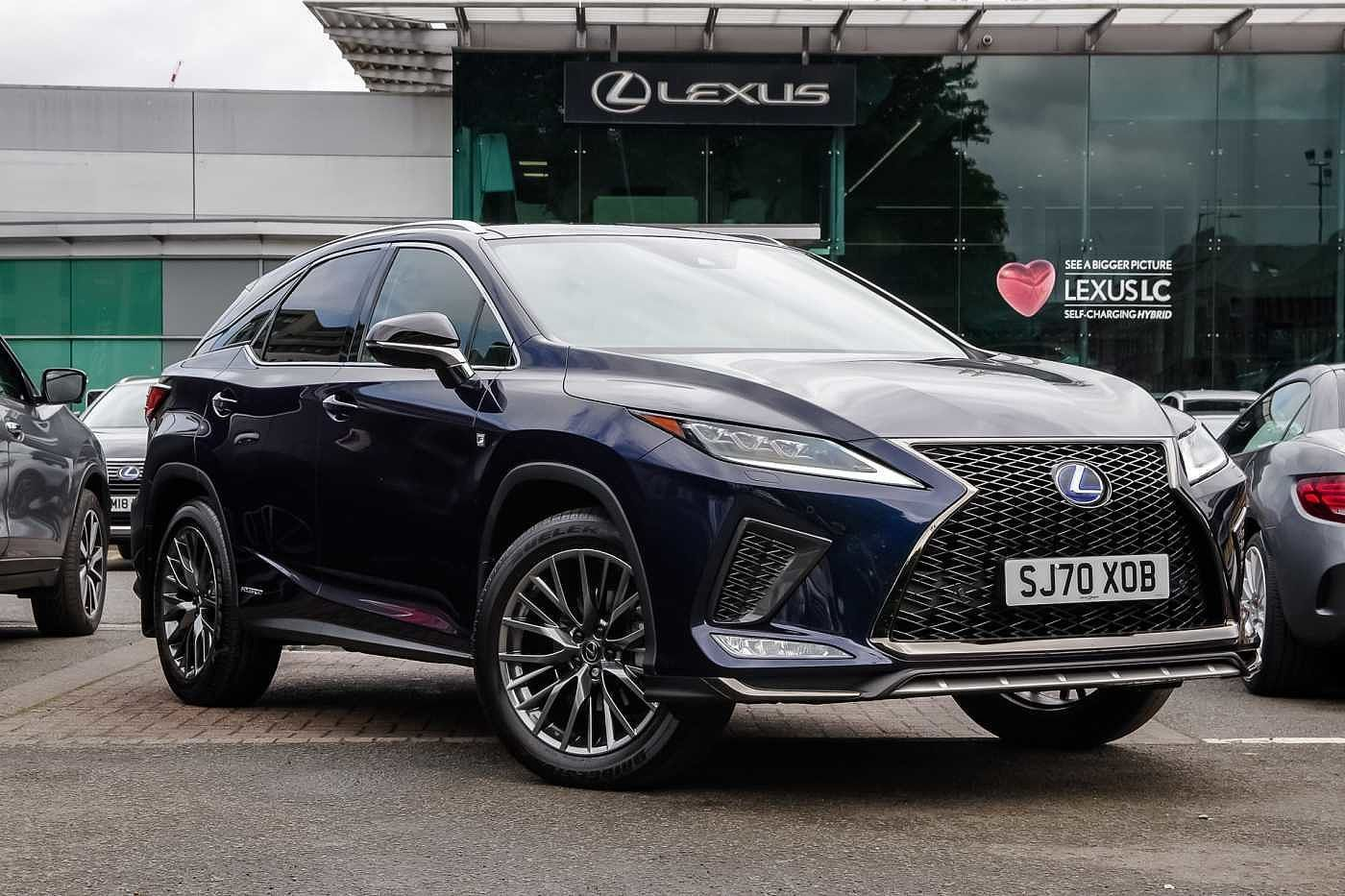 Used 2020 Rx 450h F-Sport Premium Tech & Safety