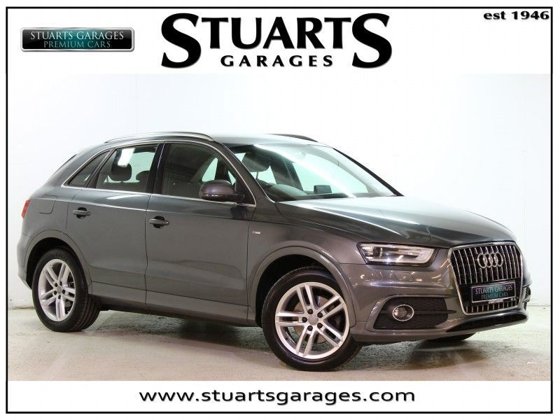 Audi Q3 2.0TDI 140 S LINE - ** Low Kilo **Part Leather , 18