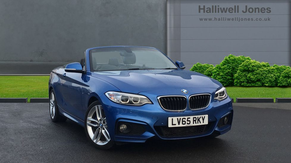 Image 1 - BMW 220i M Sport Convertible (LV65RKY)