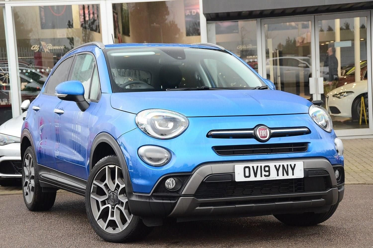 Used Fiat 500x Petrol Blue 5dr 2019 For Sale In Kidlington Used Approved Jeep
