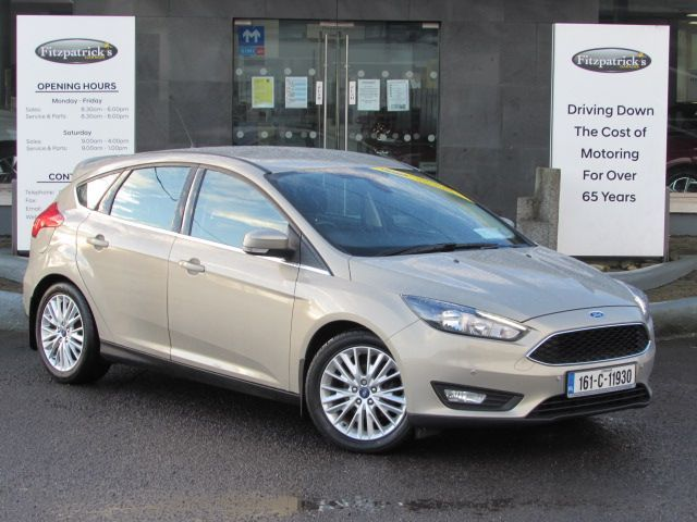 Ford Focus ZETEC 1.5 DIESEL 122,000 KMS WITH NCT TESTED UNTIL 2022  AND WARRANTY. ANY TRADE IN WELCOME.