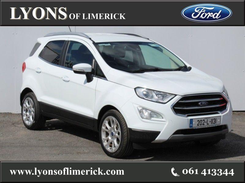 Ford EcoSport TITANIUM 1.5TD 100PS Contact Owen Ryan 0878304883