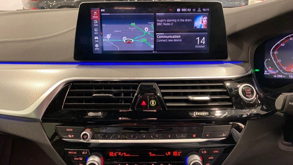 Image 5 - BMW 520d M Sport Saloon (YD69ACT)