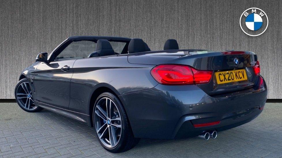 Image 2 - BMW 420d M Sport Convertible (CX20KCV)