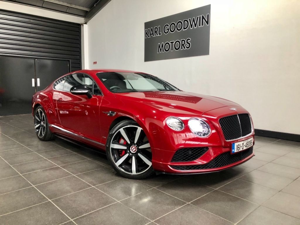 Bentley Continental GTS V8 MDS 4.0 Twin Turbo AWD