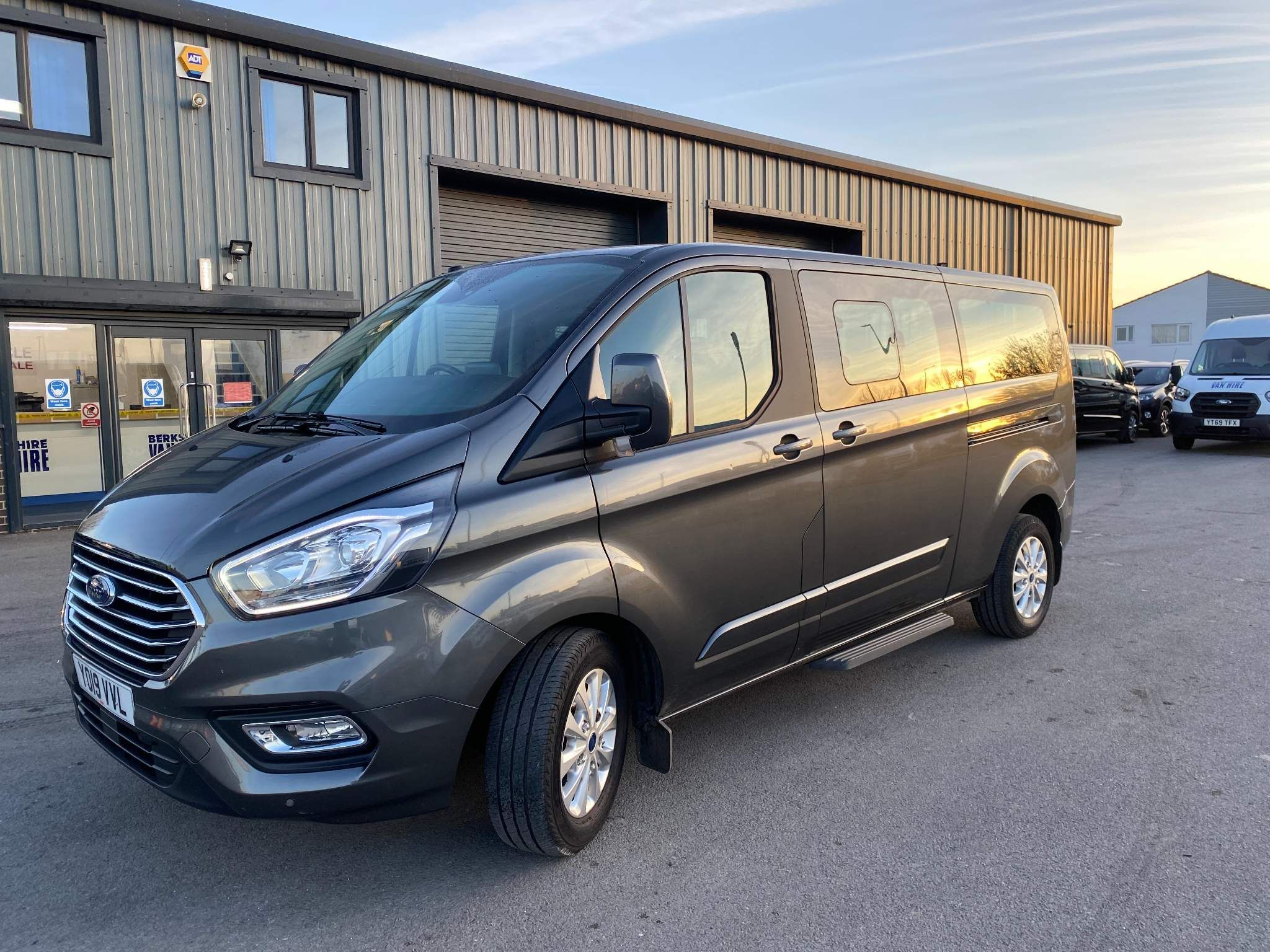 Ford Tourneo Custom Mini Bus 9 Seater For Sale