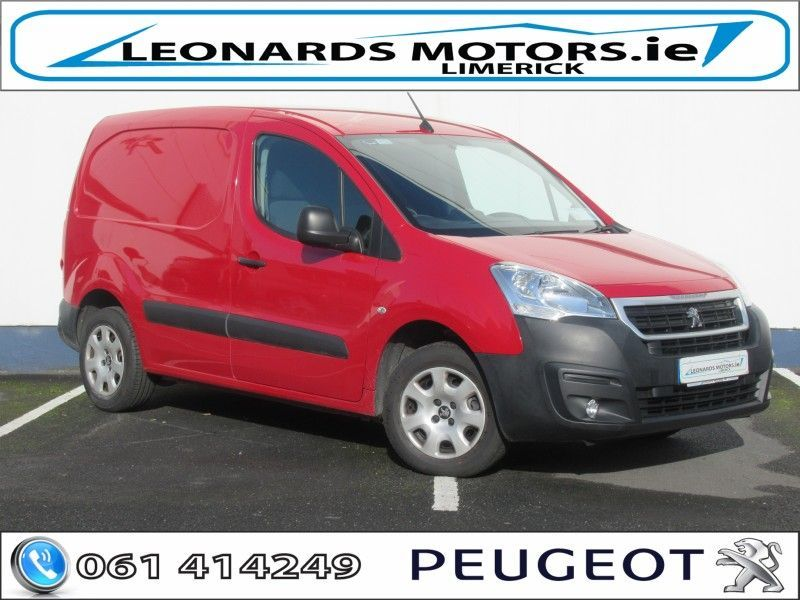 Used Peugeot Partner PROFESSIONAL 1.6 BLUE (2018 (181))