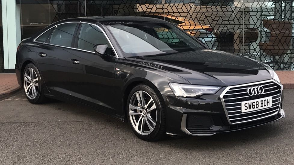 Used 2018 A6 Saloon 40 TDI S Line 4dr S Tronic