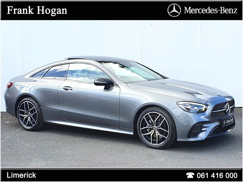 Mercedes-Benz E-Class E220 Coupe AMG Sport 2.0 Diesel with 194BHP