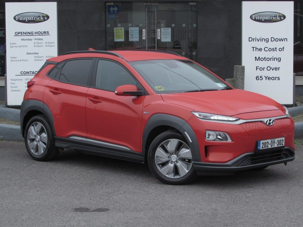 Hyundai Kona PREMIUM ELECTRIC 64 KWH BATTERY WITH UNLIMITED MILEAGE WARRANTY FOR 5 YEARS ON CAR AND 8 YEARS ON BATTERY ANY TEST DRIVE WELCOME