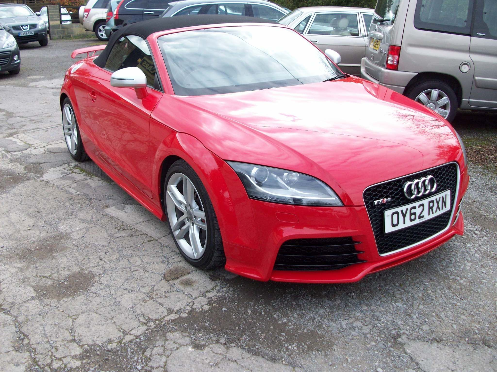 Red Audi Tt Rs Used Cars For Sale Autotrader Uk