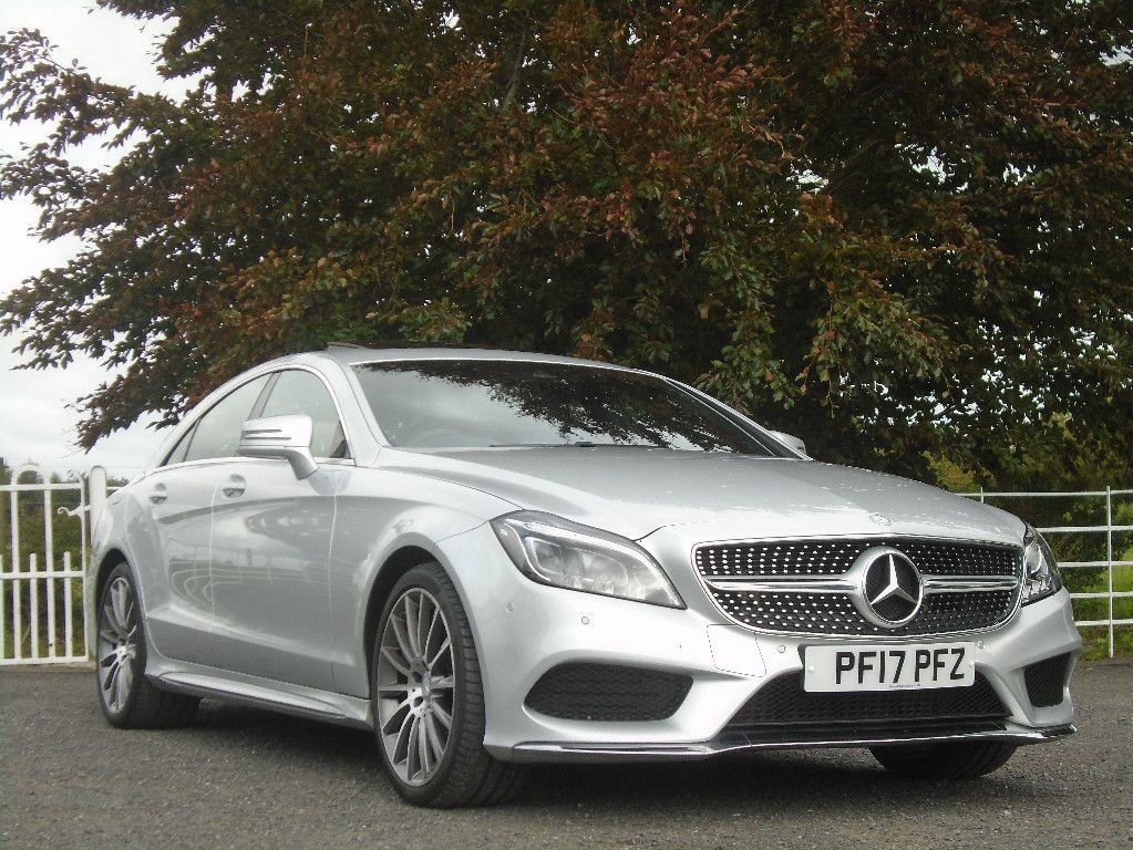 Mercedes-Benz CLS-Class SUN ROOF  AMG LINE PREMIUM // ONLY 24K MLS