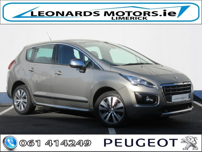 Peugeot 3008 JUST GONE ACTIVE 1.6HDI 112 4DR