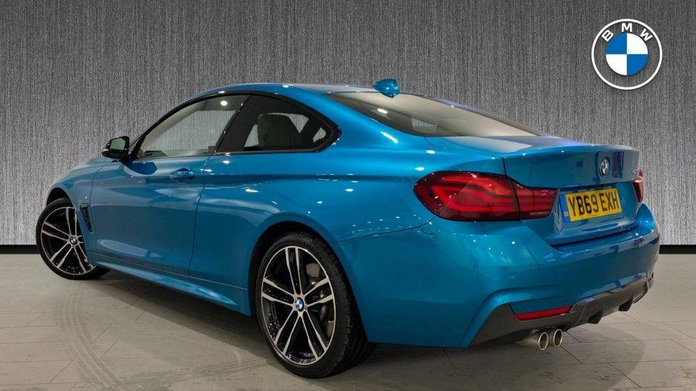 Image 2 - BMW 420i M Sport Coupe (YB69EXH)