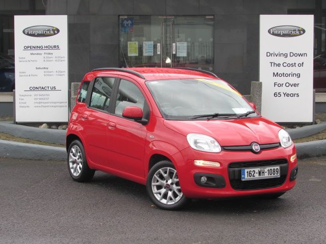 Fiat Panda LOUNGE 1.2 PETROL WITH 20,000 MILES FULL FIAT SERVICE HISTORY NCT TESTED UNTIL 2022 WITH WARRANTY