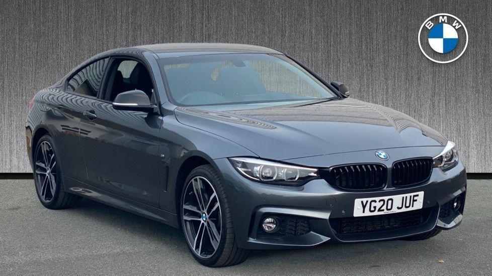 Image 1 - BMW 420i xDrive M Sport Coupe Auto (YG20JUF)