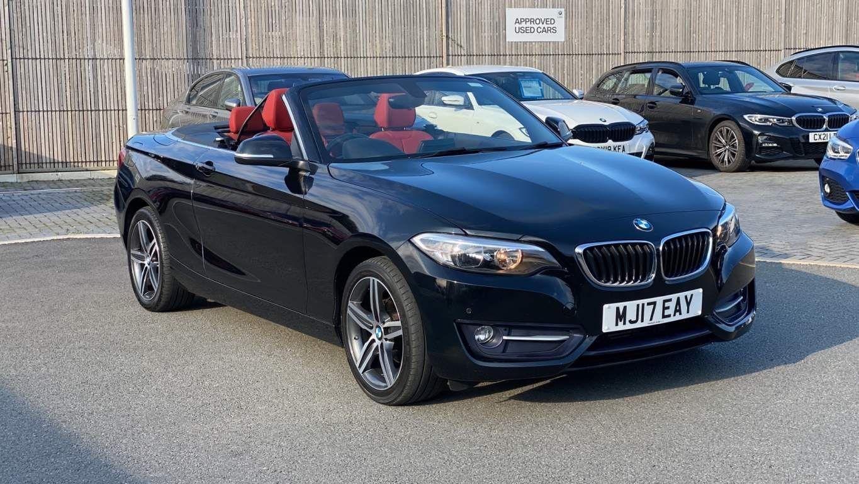 Image 1 - BMW 218d Sport Convertible (MJ17EAY)