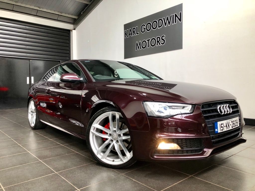 Audi A5 2.0 S Line Coupe Diesel Automatic 4WD (177bhp)