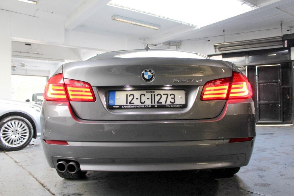 Used BMW 5 Series 520D ONLY 67K PRO NAV LOW ROAD TAX 04/21 NEW NCT 04/22 (2012)