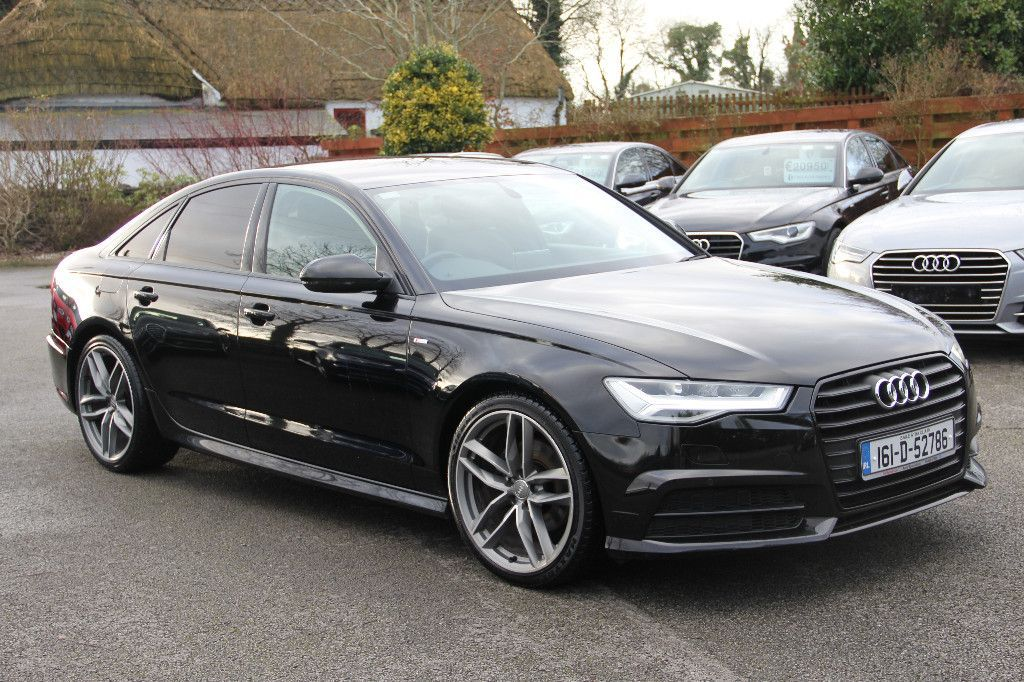 Audi A6 BLACK EDITION * TECH PACK * S LINE S TRONIC 190BHP ULTRA * FULLY COMPREHENSIVE WARRANTY * TRADE IN * FINANCE AVAILABLE