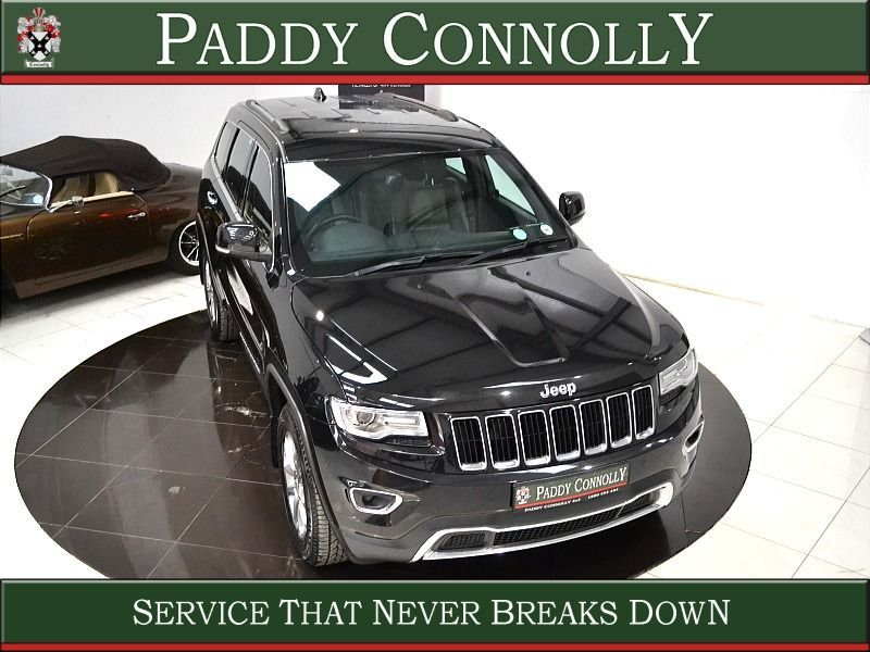 Used Jeep Grand Cherokee *5 Seat N1 Bus.Class* CRD LIMITED EDITION (2015 (151))