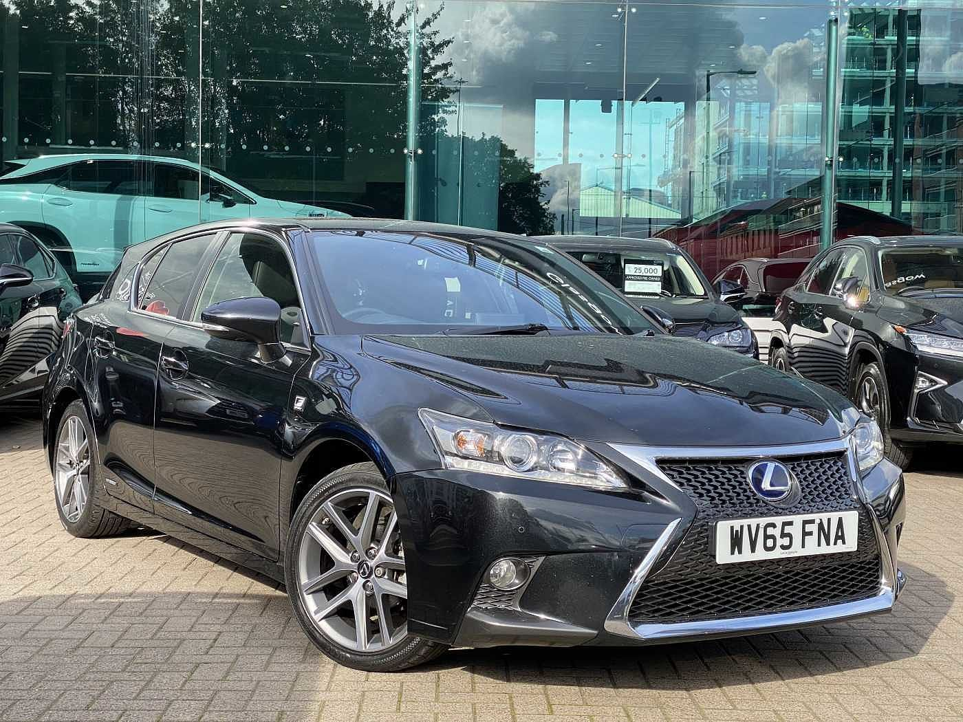 Used 2015 CT 200h F-Sport with Leather & Premium Nav