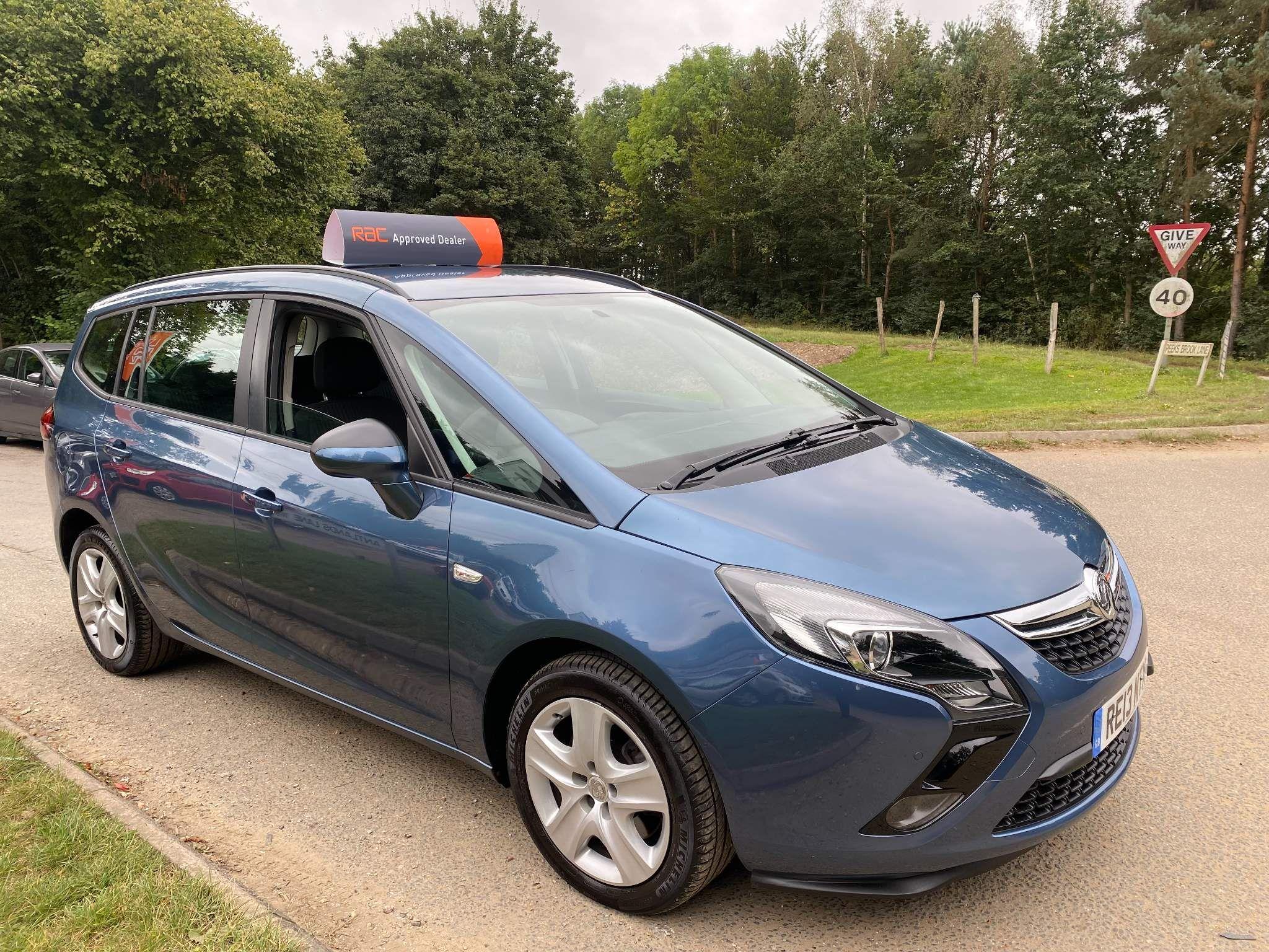 Used Vauxhall Zafira Tourer for sale