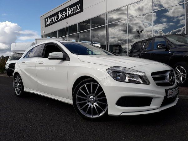 Mercedes-Benz A-Class BLUE-EFFICIENCY AMG SPORT CD WARRANTY