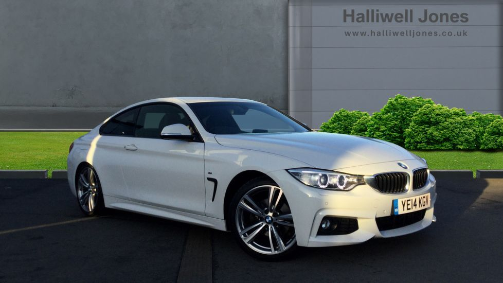 Image 1 - BMW 420d M Sport Coupe (YE14KGV)