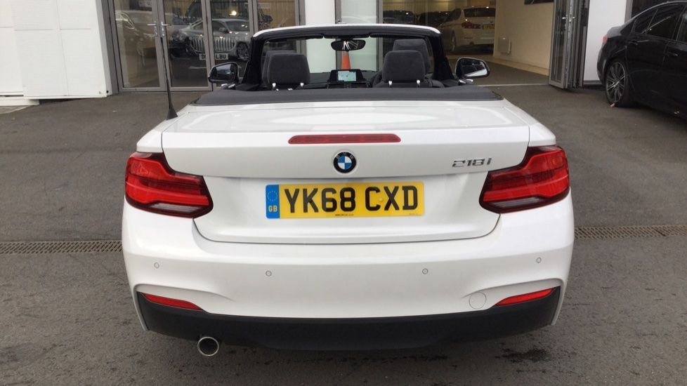 Image 10 - BMW 218i M Sport Convertible (YK68CXD)