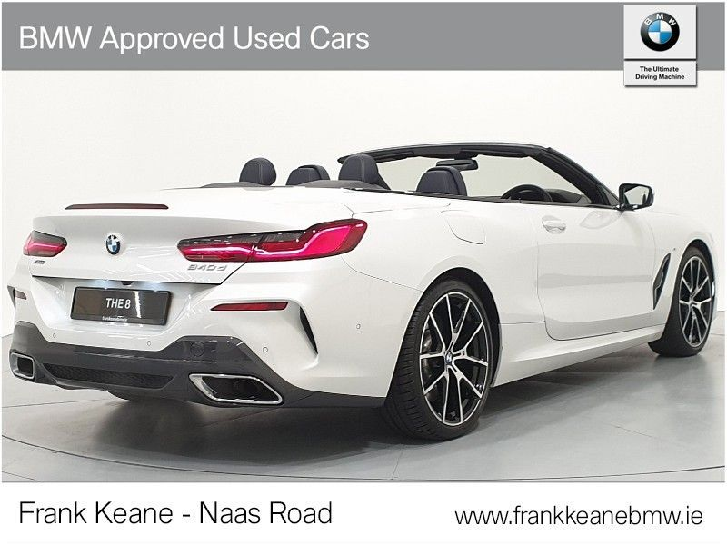 Used BMW 8 Series 840d xDrive Convertible (2019 (191))