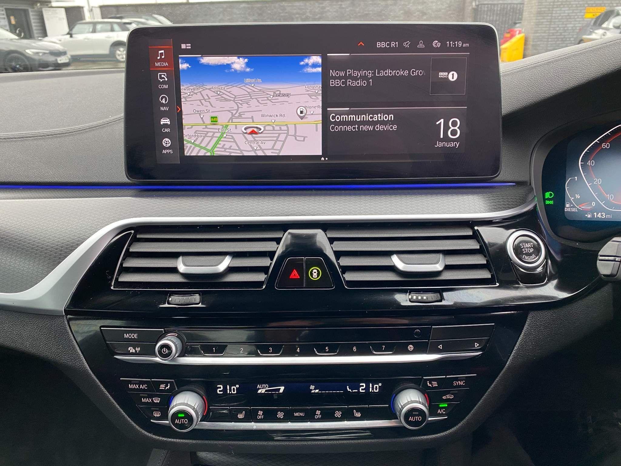 Image 12 - BMW 530d xDrive M Sport Saloon (MV70CGK)