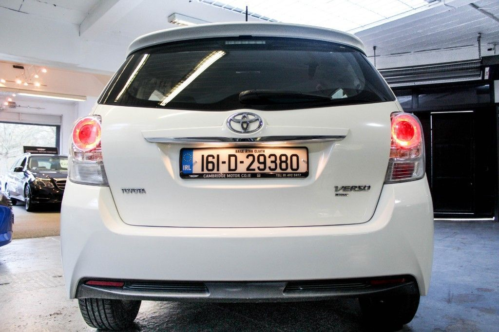 Used Toyota Verso DIESEL 7 SEATER ONLY 65000KLMS ONE OWNER FROM NEW ONLY €200 ROAD TAX NEW NCT (2016 (161))