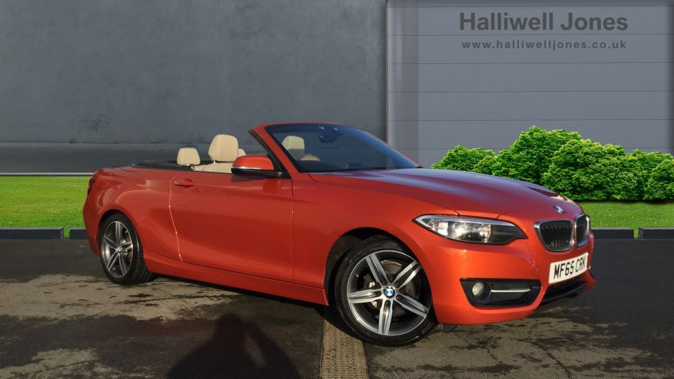 Thumbnail - 1 - BMW 218i Sport Convertible (MF65CRK)