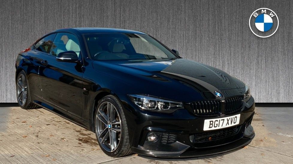 Image 1 - BMW 420d M Sport Coupe (BG17XVO)