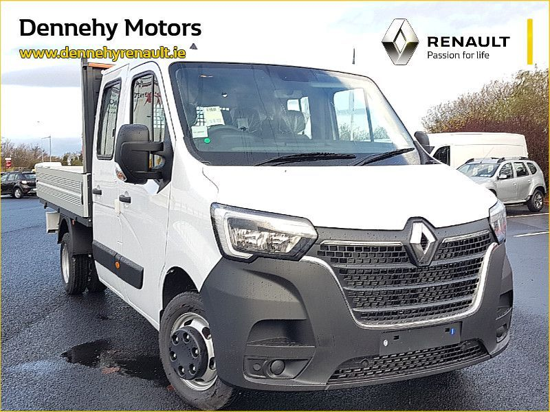 Renault Master Double Cab Twin Wheel Dropside