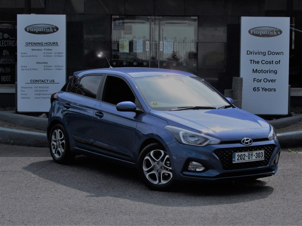 Hyundai i20 DELUXE 1.2 PETROL WITH UNLIMITED MILEAGE WARRANTY UNTIL 2025 ANY TEST DRIVE OR TRADE IN WELCOME