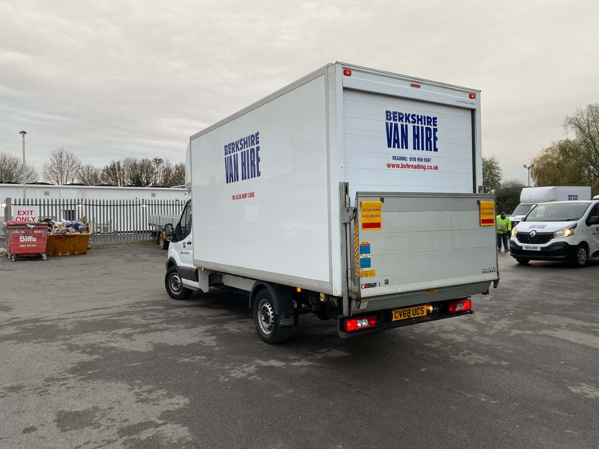 FordTransit 350Luton Tail Lift For Sale