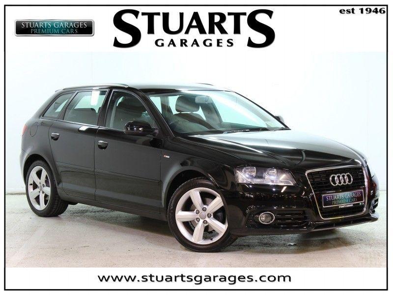 Audi A3 SB 1.2 TFSI 105 5DR***S-LINE EXTERIOR PACK, UPGRADED ALLOYS, A/C, B/T, E/W X 4***